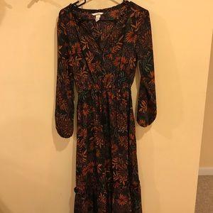 Floral H&M Maxi Dress